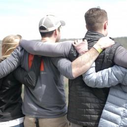 Kore Venture participants hugging